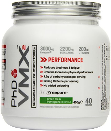PHD VMX2 - Green Tea and Pomegranate, 1er Pack (1 x 400 g)