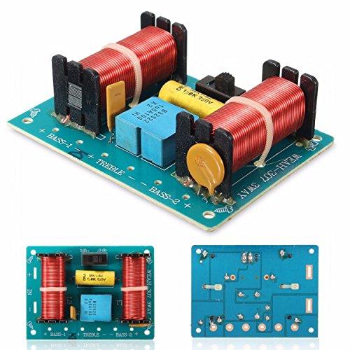 Ils - Agudos Graves 3 Way Divisor de frecuencia de Audio del Altavoz Crossover Filtros Junta de Bricolaje