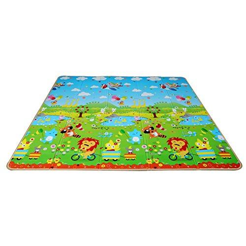 LXLA- Faltbare Picknick-Matte verdicken draußen feuchtigkeitsdichte Auflage kampierende...