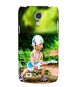 Omnam boy singing guitar in passion back cover for Samsung Glaxy S4