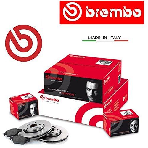 08508514 Dischi freno + pastiglie Brembo anteriori 500 Panda Punto Seicento 1.1 1.2