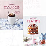 Cath Kidston Mug Cakes, Cupcakes and More! and Teatime 2 Books Collection Set With Gift Journal - 50 cakes and bakes for every occasion