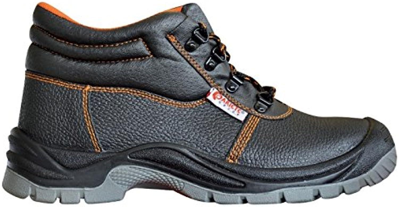 Zapatos de Tacón Trabajo S 3-44 Deportivo de Cuero