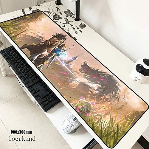 900X300X3Mm Großes Gaming-Mauspad Großes Tastatur-Mauspad Halloween-Geschenk Notebook Gamer-Zubehör-Pad Mauspad