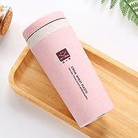 SHAWE - Taza para café de doble pared con aislamiento de vacío para viaje, casa y oficina, muy ligera de 120g, botella de agua deportiva, 300 ml