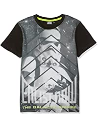 Star Wars-The Clone Wars Darth Vader Jedi Yoda Jungen T-Shirt - grau