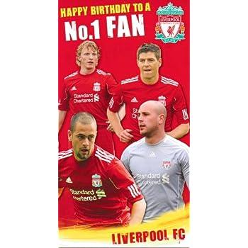 Liverpool birthday card happy birthday no1 fan amazon toys liverpool birthday card happy birthday no1 fan bookmarktalkfo Choice Image