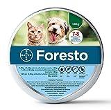 Foresto - Collar de pulgas y garrapatas para perros y gatos menores de 8 kg, protección continua de 8 meses