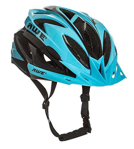 AWE® AWEAir™ In-Mould Helm Erwachsene Männer Straßen-Radsport 58-61cm blau