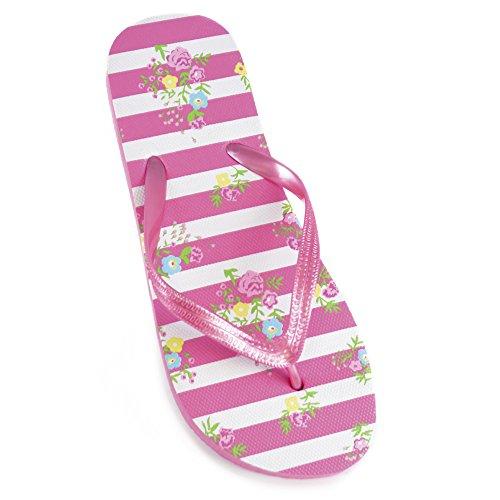 Dames Ditsy Bloemen Print Flip Flops