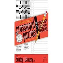 10-Minute Crosswords Notepad + Calendar 2017