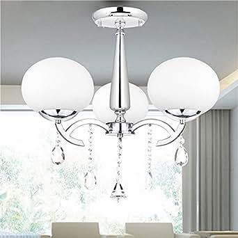 alfred elegante moderne kristall 3 licht kronleuchter modern home leuchte decke fur montage von pendelleuchte kronleuchter beleuchtung amazon de