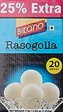 Bikano Rasogolla, 1kg (with 25% Extra)