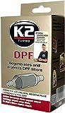 K2 Diesel Additif supplémentaire pour filtre à particules Diesel, nettoyant injecteurs, nettoyant suie Filtre à particules, 50 ml