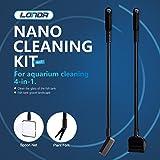 Nano Reinigungsset für Aquarium Reinigung 4-in-1 Fisch Tank Pinsel Mehrzweck-Tools