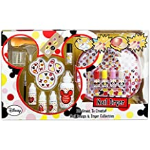 Minnie Mouse - Nail Design & Dryer Collection, pack de manicura (Markwins 9605710)