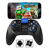 BEBONCOOL Android Controller Gamepad, Bluetooth Game Controller Gamepad mit Clip für Android Handy/Tablet/TV Box/Gear VR/Emulator