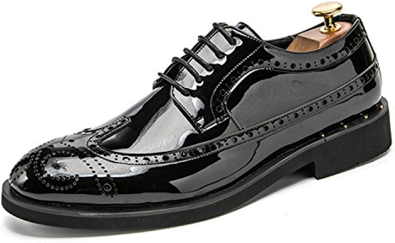 Esthesis Hombre Brogue Oxford Shoes Formal Ballroom Dress Calzado Zapatos de Cuero Zapatos -