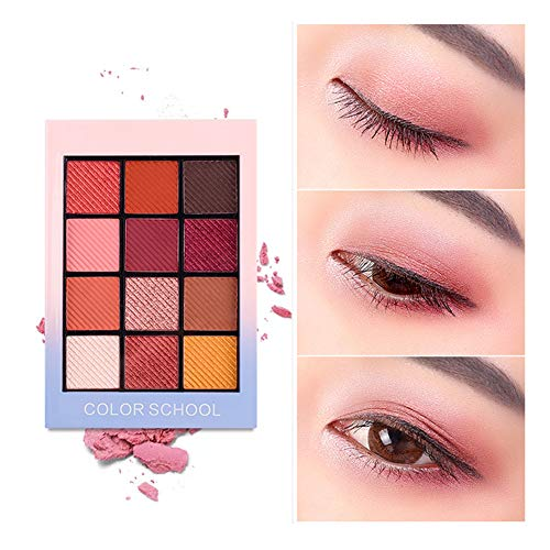 Beito 1PC Pro gama colores mate sombra ojos 12 colores
