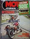 MOTO JOURNAL [No 453] du 27/03/1980 - COMPARATIF : LA NOUVELLE KAWASAKI Z 750 FACE A LA SUZUKI GSX ET LA HONDA 750 KZ. TRIUMPH : HISTOIRE D'UN RETOUR. EXCLUSIF : SPECIAL VITESSE 500 YAMAHA, SUZUKI USINE. A COEUR OUVERT.