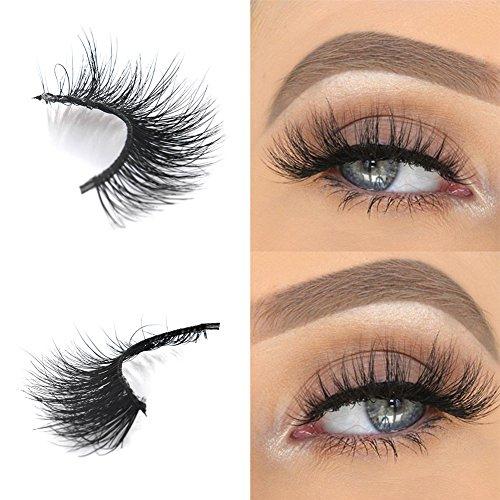 Arison Lashes Falsche Wimpern Natürliches Aussehen Wiederverwendbar 3D Reine Handarbeit Für Make-Up Wimpern Verlängerung Einfach Erstellen Sie Einen Glamourösen Look (evelyn) -