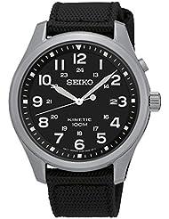 Seiko Herren-Armbanduhr Analog Quarz Nylon SKA727P1