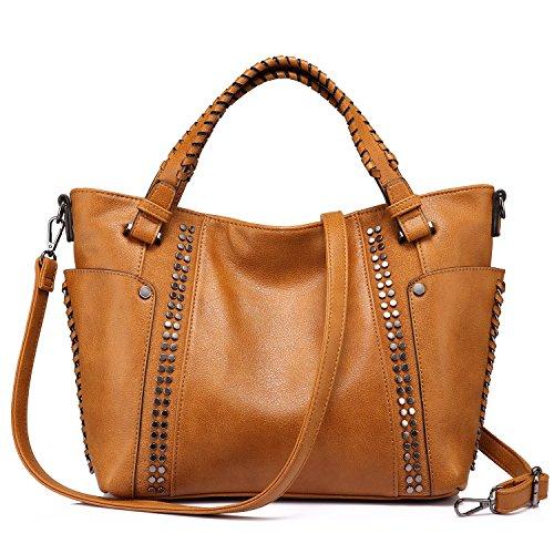 Handtaschen Damen Leder Henkeltasche Taschen Groß Tote Tasche Designer Taschen (Designer Handtaschen)