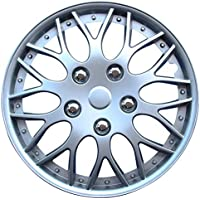 AutoStyle KT-970-14S/L Set Copricerchio Missouri 14 Silver, 4 pezzi