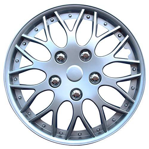 AutoStyle KT-970-14S/L Set Copricerchio Missouri 14 Silver, 4 pezz