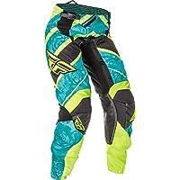 Fly Motocross/MTB 2016Pantaloni Kinetic Lady–teal-néon, verde, 9/10 - 30 (EU 40)