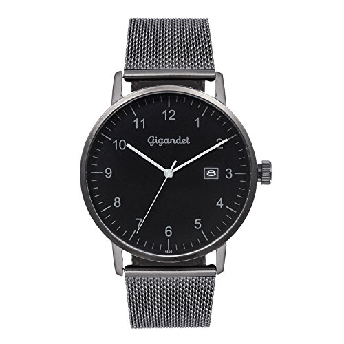Gigandet Minimalism Men's Analogue Wrist Watch Quartz Black G26-007