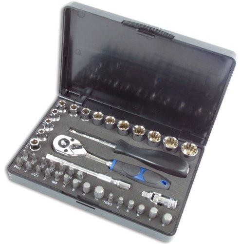 Laser 3568 Coffret Douilles/clé à Douille Alldrive 1/4\