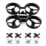 Toifocus RC Drone Propulsores y marco para JJRC H36 Eachine E010 Micro Drone Piezas, Gris