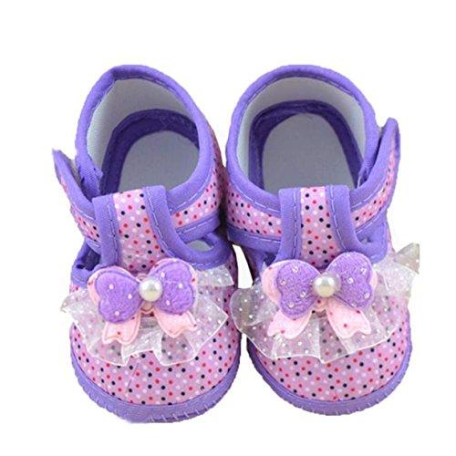 Chaussures Bébé, Reaso Bowknot Bottes Souple Crib Shoes