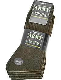 10 Paar Army-Sportsocken aus strapazierfähiger Baumwolle