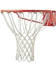 Champion Sports 6mm Deluxe Professional Non-Whip White Nylon Basketball Net, 416