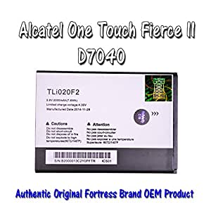 Replacement Battery for Alcatel One Touch Fierce 2 7040t 7040 , Pop C7, Pop Icon A564c Fortress Brand