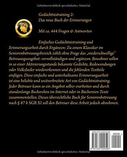 Gedächtnistraining 2: Das neue Buch der Erinnerungen