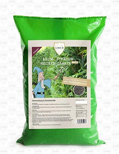 Linsor Baum-Strauch-Hecken-Zauber Plus, Organischer Ziergartendünger 2,75 kg