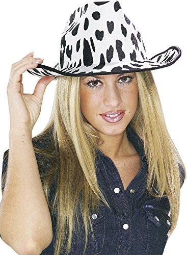 Rubie 's-Cowboy-Hut mit Dekoration Kuh, für Erwachsene (S5285)