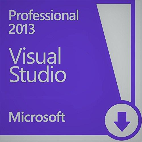 Microsoft Visual Studio 2013 Pro 1 User License (EN) Visual Studio 2010 Software