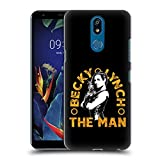 Official WWE Image 2 Becky Lynch The Man Hard Back Case