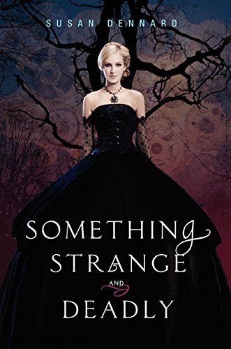 Book cover for Something Strange and Deadly