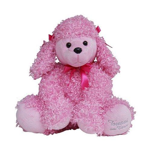 Tussi on Tour Plüsch Hund Pudel Kuscheltier rosa pink mit (Rosa Pudel)