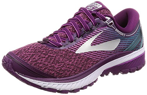 Brooks Ghost 10, Zapatillas de Running para Mujer, Morado (Purple/Pink/Teal 1b511), 37.5 EU