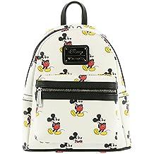Loungefly Disney Mickey Mouse Todo Imprimir mini mochila