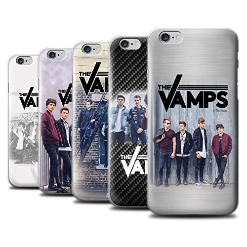 Offiziell The Vamps Hülle / Case für Apple iPhone 6S+/Plus / Pack 6pcs Muster / The Vamps Fotoshoot Kollektion Pack 6pcs
