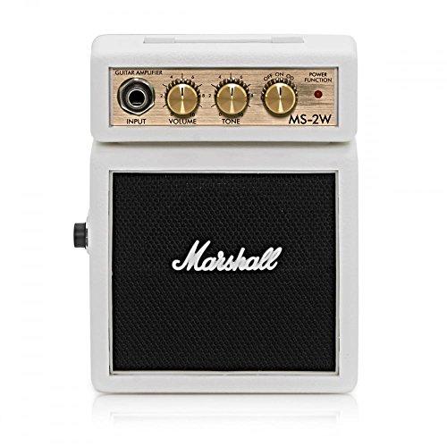 Amplificador Guitarra Marshall Mini 2w Blanco a Pilas