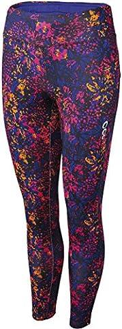 CRIVIT® Damen Sporthose, Leggings, 7/8-Länge (Gr. S 36/38, blaulila, pink,