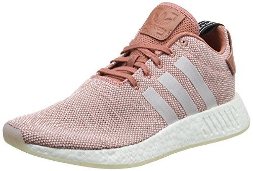 Adidas NMD_R2 W, Zapatillas para Mujer, Rosa (Ash Pink/Crystal White/Footwear...